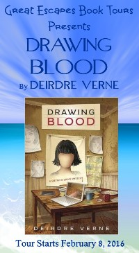 DRAWING BLOOD small banner