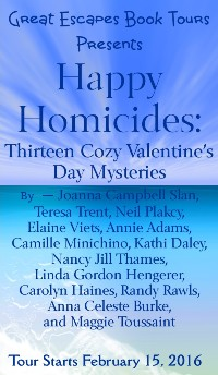 HAPPY HOMICIDES VALENTINE small banner