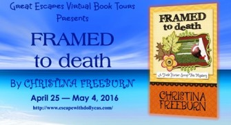 FRAMED TO DEATH large banner335