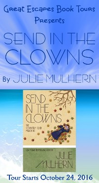 SEND IN THE CLOWNS small banner