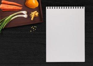 Writing recipes