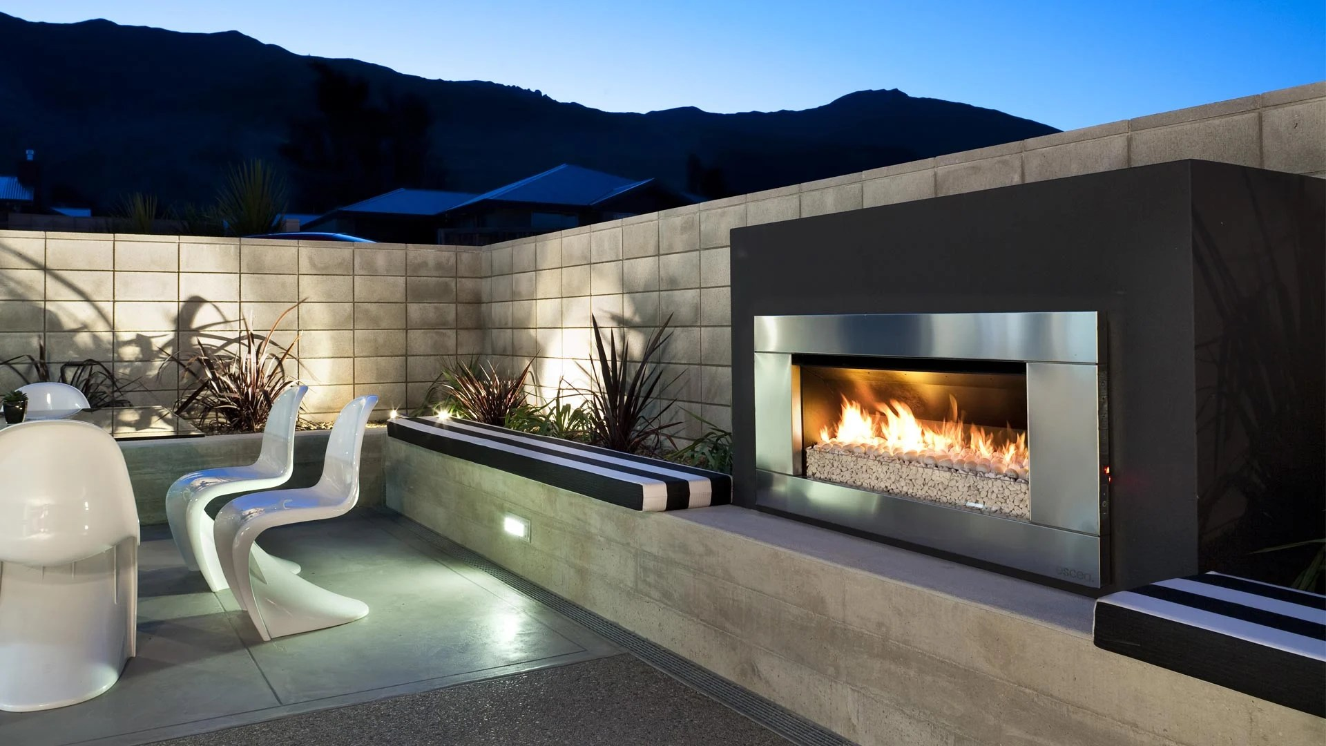 Escea Ef Outdoor Gas Fireplace