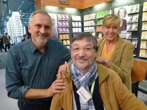Jussi Adler Olsen mit Redaktion des Stadtmagazins