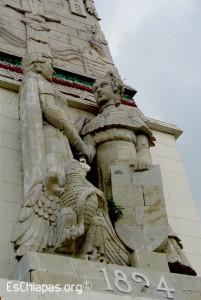 """Monumento """"Anexión de Chiapas a México"""""""