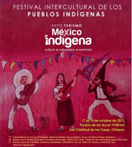 Festival Intercultural de los Pueblos Indígenas de México. Chiapas 2011