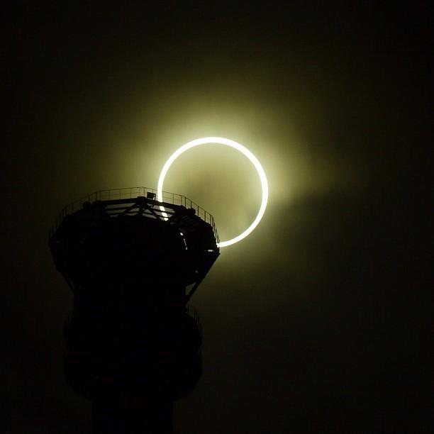 Eclipse Anular de Sol. 20-Mayo-2012