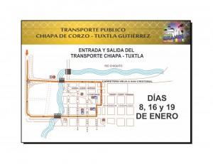 Mapa de Transporte Público