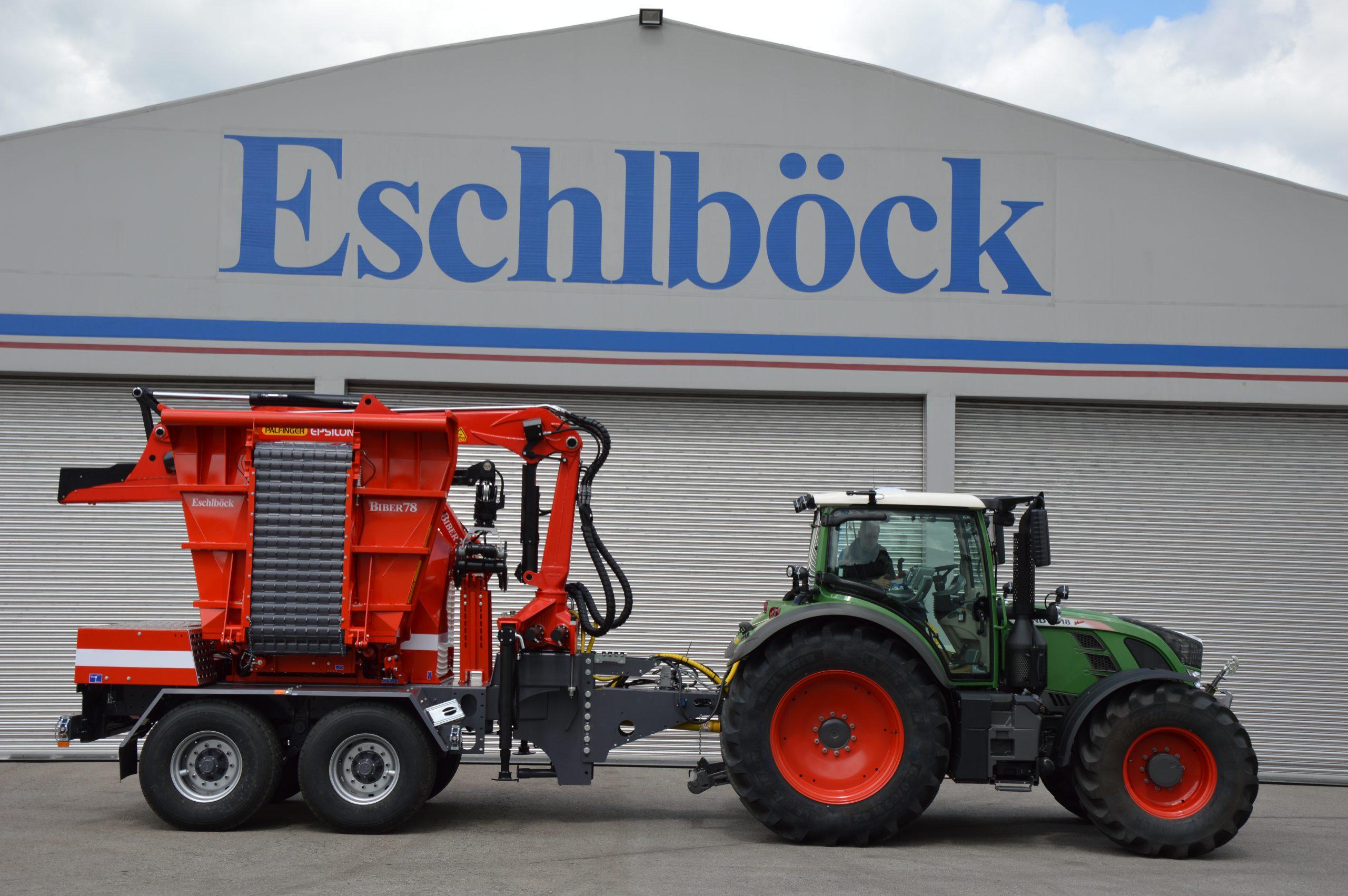 Eschlböck Biber 78 ZK Holzhackmaschine