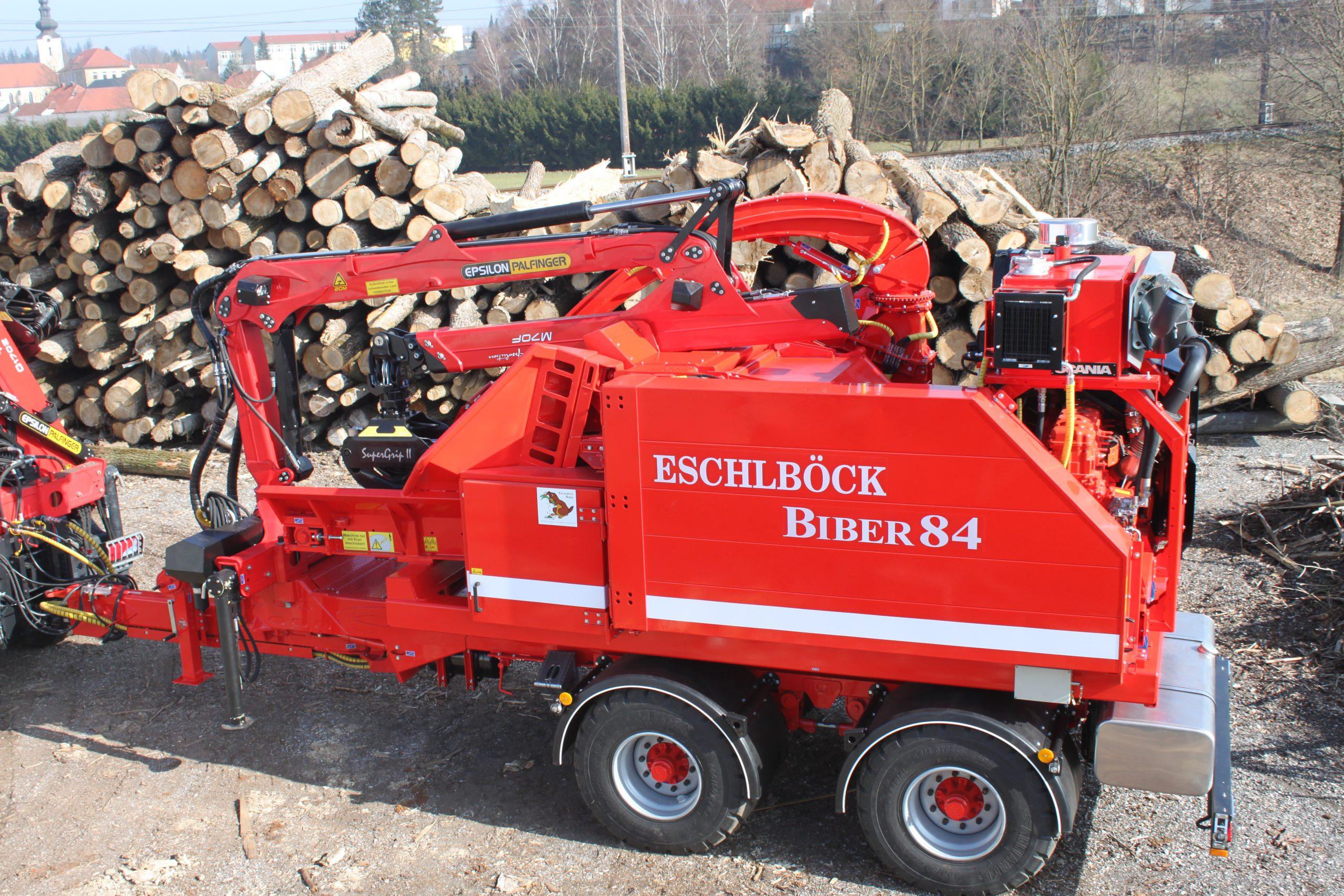 Eschlböck Biber 84 RM Holzhackmaschine