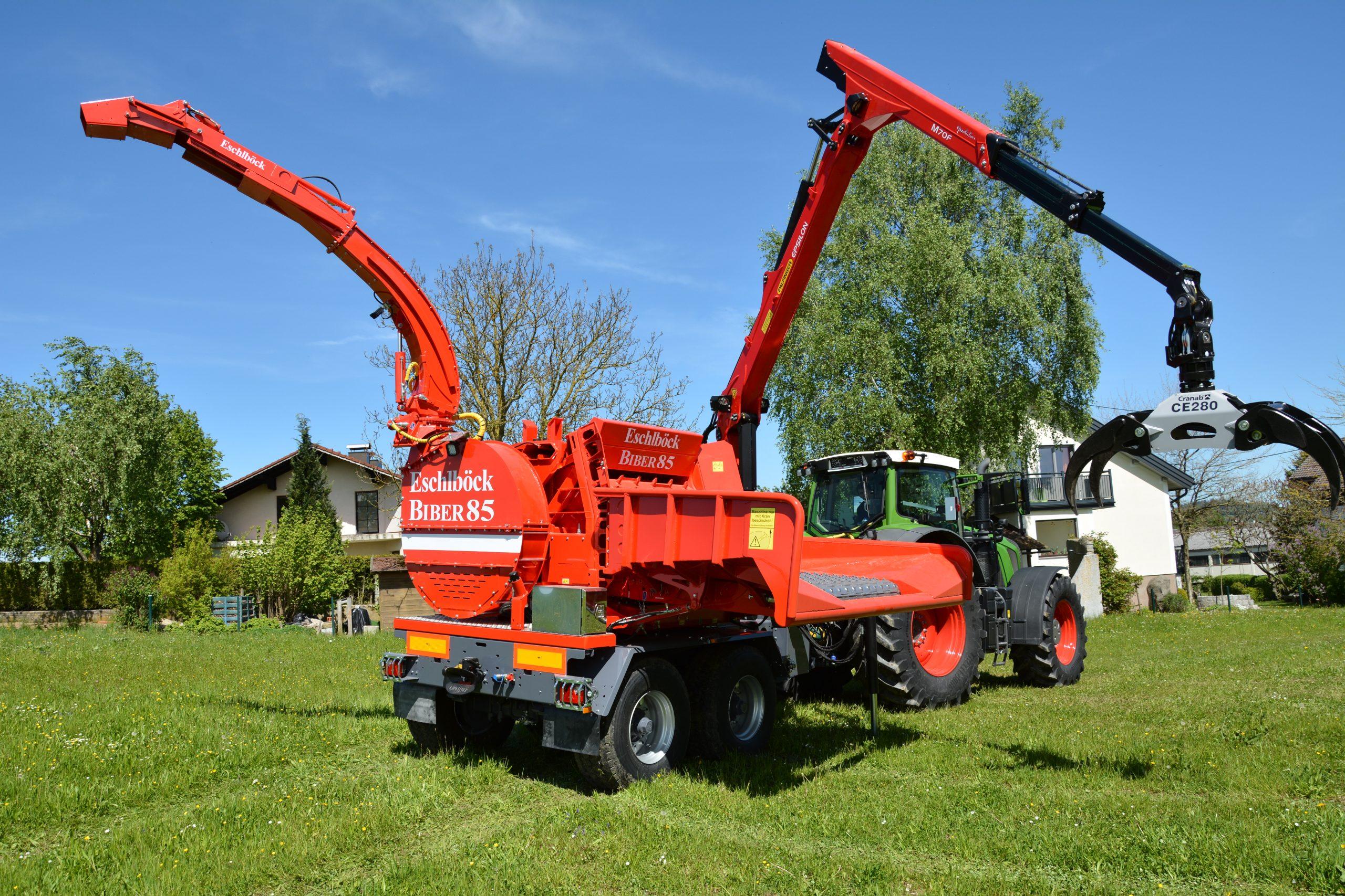 Eschlböck Biber 85 ZK Holzhackmaschine