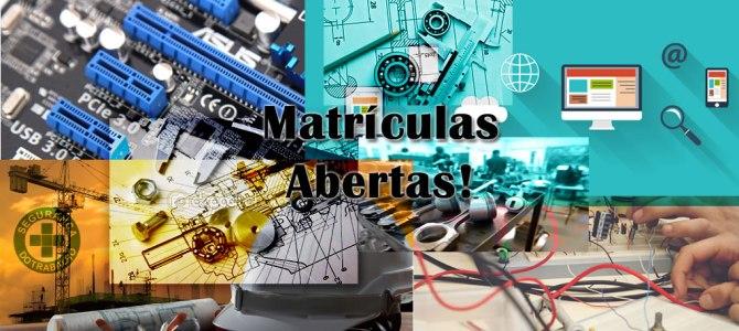 Matrículas Abertas – 2º SEMESTRE/2016