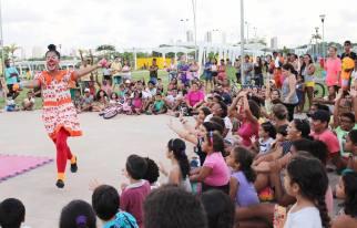 Sonho do Circo no Parque Urbano da Macaxeira - Recife - Março 2017