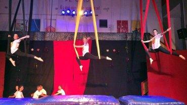Culminância do Curso de Iniciação às Artes Circenses 2015.2