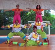 A Trupe Circus além de encantadora e colorida também faz espetáculos e oficinas para as Escola Públicas e Particulares.