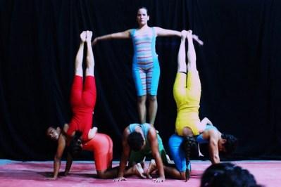 Culminância do Curso de Iniciação às Artes Circenses 2010