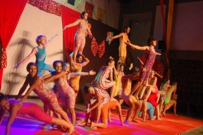 Culminância do Curso de Iniciação às Artes Circenses 2013.2