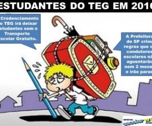 O futuro dos estudantes do Transporte Escolar Gratuito em SP