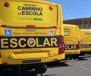 Governo entrega 180 ônibus para transporte escolar gratuito em municípios de SP