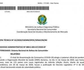 Ministério da Justiça orienta sobre contratos de serviços de transporte escolar durante a pandemia