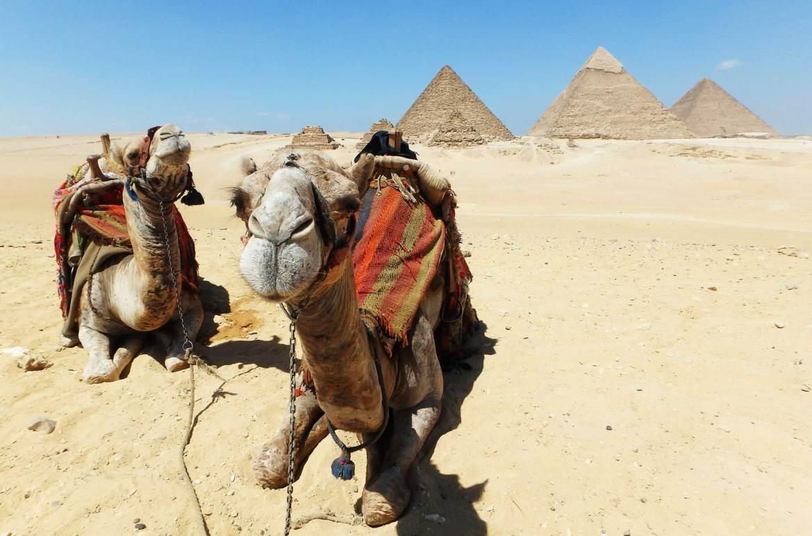 Fotos de viagem - Pirâmides de Giza, Cairo (Egito)
