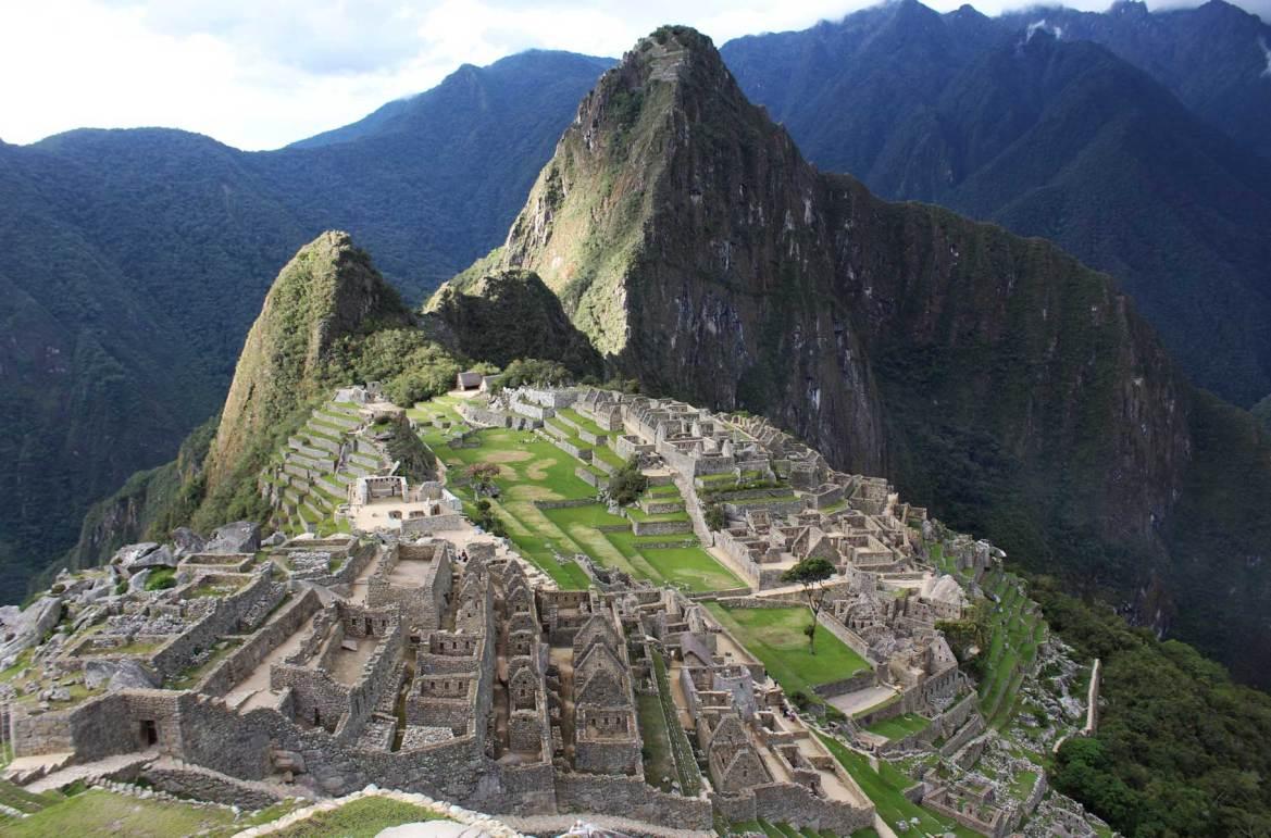 Fotos de viagem - Machu Picchu, Aguas Calientes (Peru)