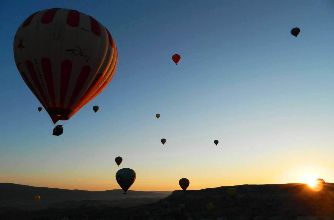 Fotos de viagem - Voo de balão na Capadócia (Turquia)