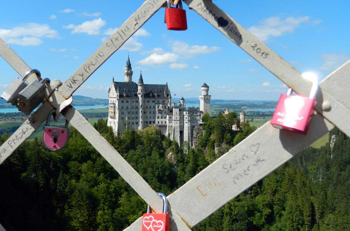 Fotos de viagem - Castelo de Neuchwenstein, Hohenschwangau (Alemanha)