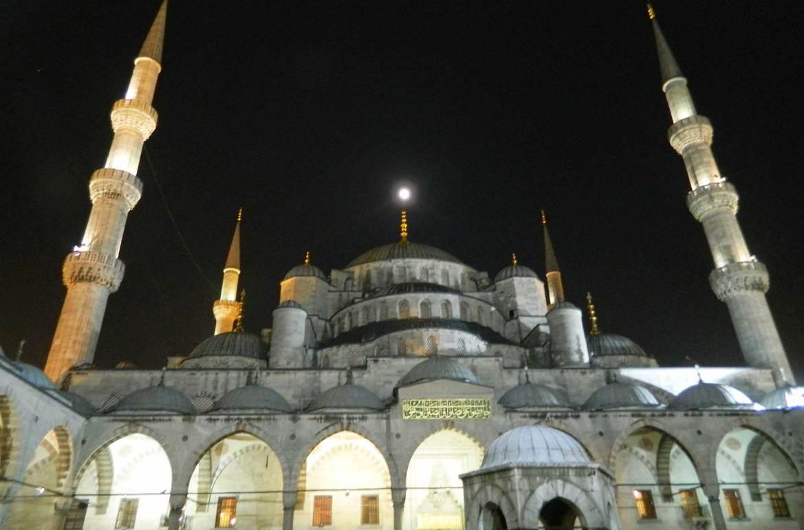 Fotos de viagem - Mesquita Azul, Istambul (Turquia)