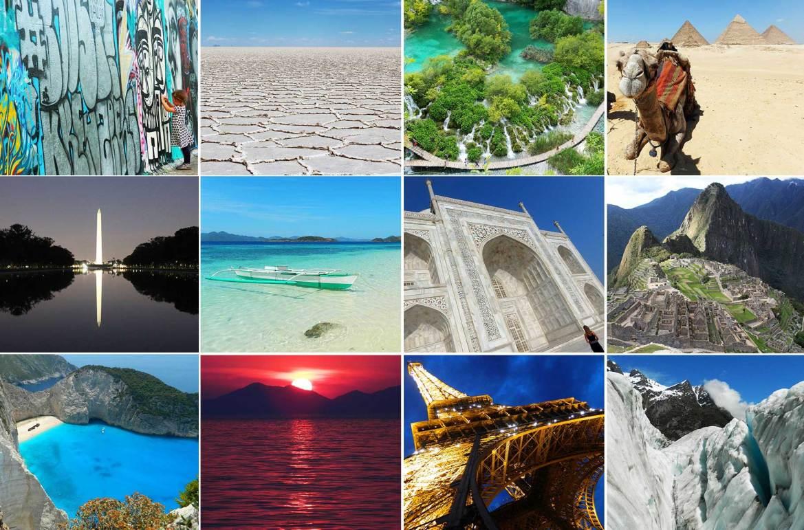 As mais belas fotos de viagem de 31 países