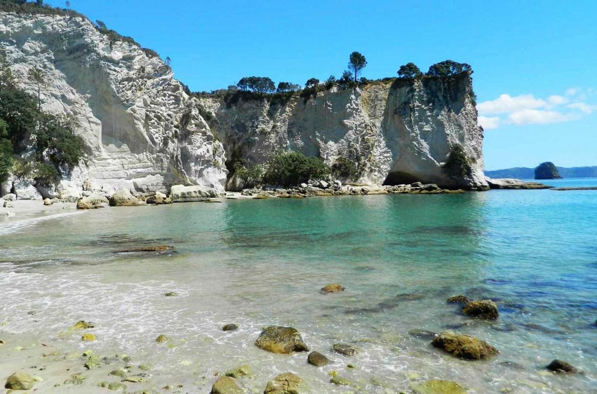 Praias mais lindas do mundo - Stingray Bay, Península de Coromandel (Nova Zelândia)