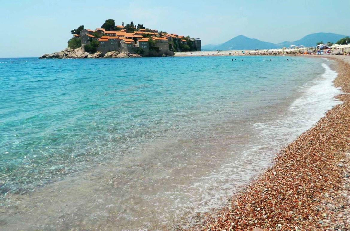 Praias mais lindas do mundo - Península de São Estêvão, em Budva (Montenegro)