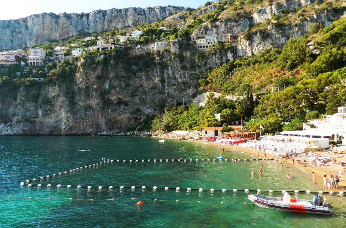 Praias mais lindas do mundo - Praia Mala, em Cap D'Ail, na Côte D'Azur (França)