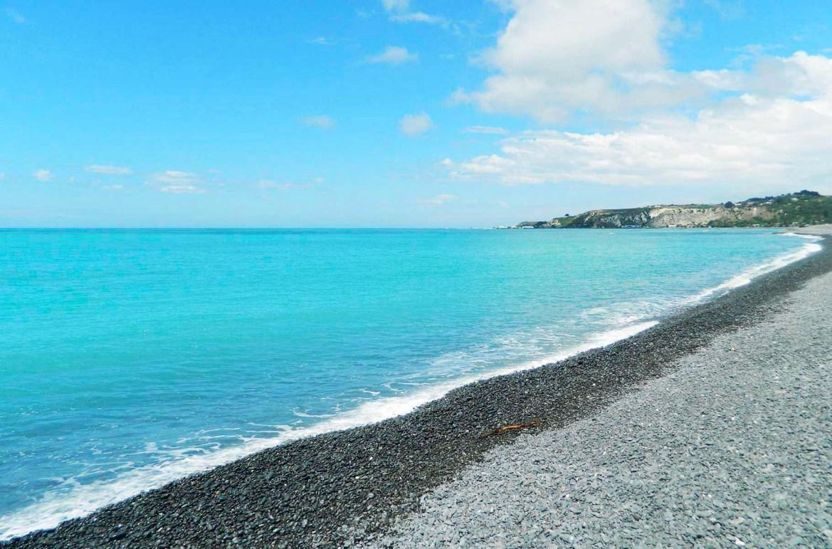 Praias mais lindas do mundo - Praia de Kaikoura (Nova Zelândia)