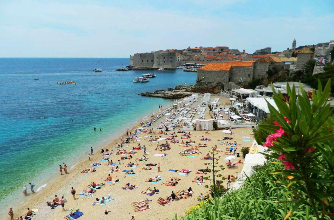 Praias mais lindas do mundo - Praia Banje, em Dubrovnik (Croácia)