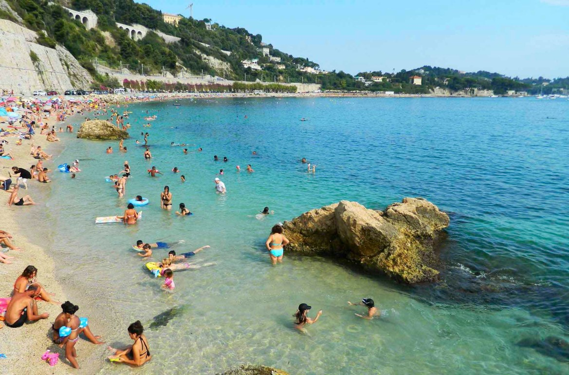 Praias mais lindas do mundo - Praia de Villefranche-sur-Mer, na Côte D'Azur (França)