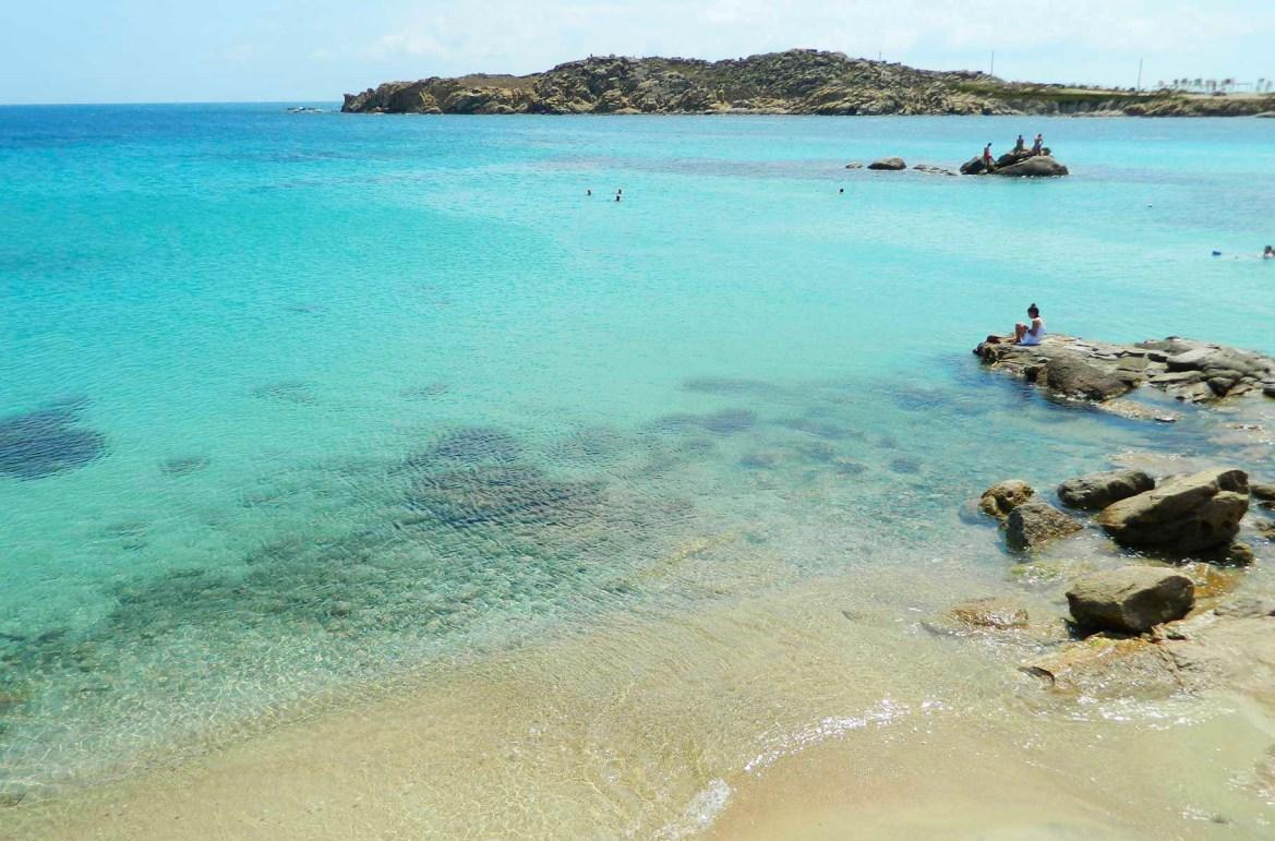 Praias mais lindas do mundo - Praia de Paraga, na Ilha de Mykonos (Grécia)