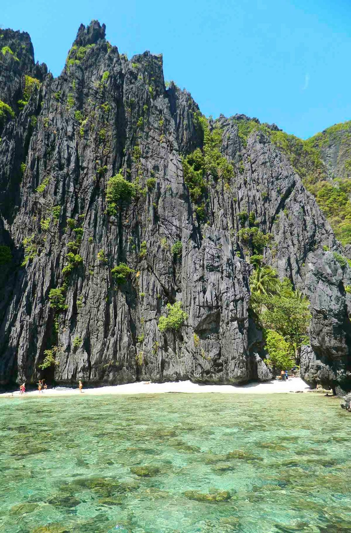 Praias mais lindas do mundo - Praia da Ilha Shimizu, em El Nido (Filipinas)