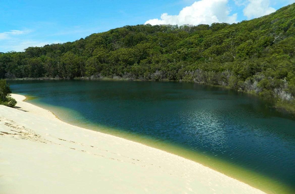 Praias mais lindas do mundo - Lago Wabby, na Ilha Fraser (Austrália)