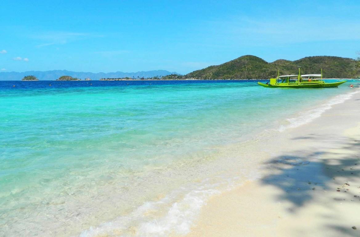 Praias mais lindas do mundo - Ilha Banana, em Corón (Filipinas)