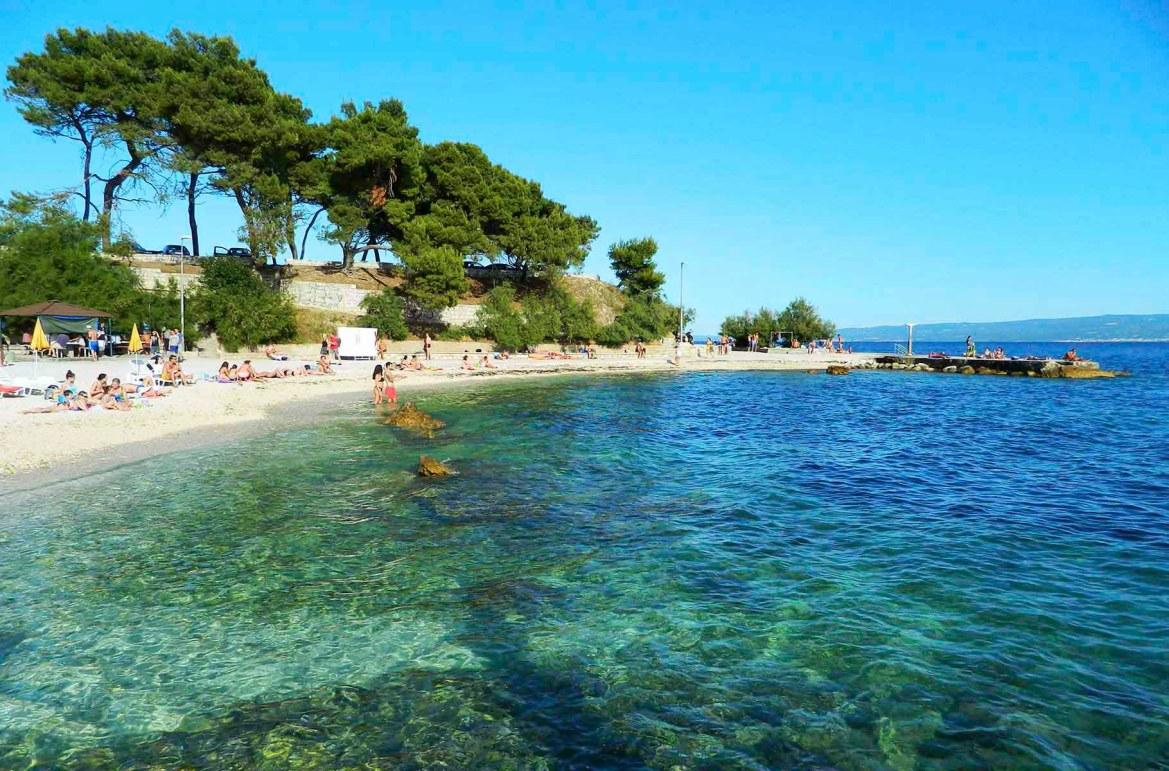 Praias mais lindas do mundo - Praia Bacvice, em Split (Croácia)