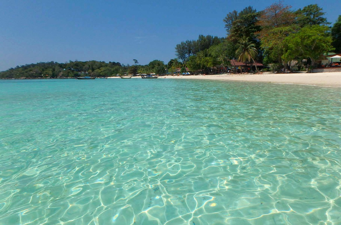 Praias mais lindas do mundo - Praia Pattaya, na Ilha de Koh Lipe (Tailândia)