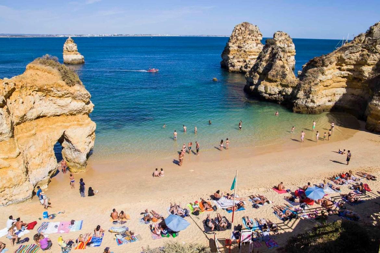 Praias mais lindas do mundo - Praia do Camilo, em Lagos, no Algarve (Portugal)
