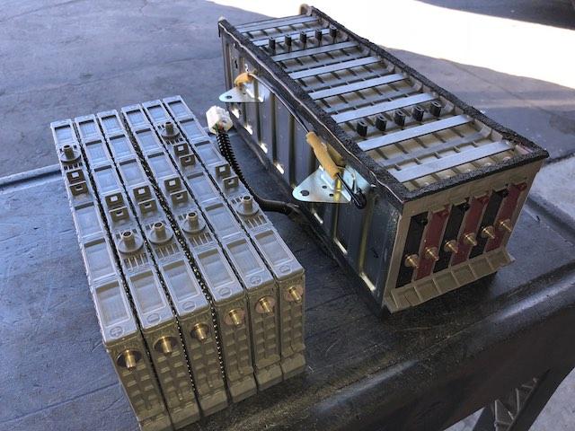 Highlander Hybrid battery