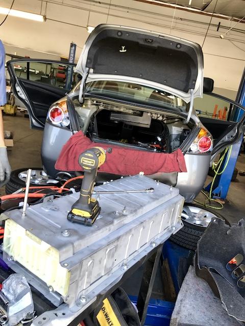 Nissan Altima Hybrid Battery