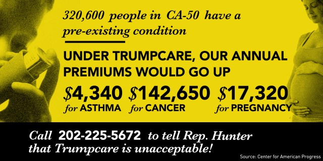 Trumpcare Removes Pre-Existing Condition Protection