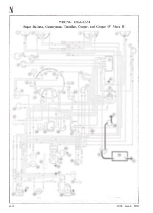 Classic Mini Super Deluxe Countryman Traveller A3 Wiring Diagram Dynamo Models | eBay