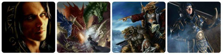 Raistlin, Takhisis contra Fizban, Draconianos, Cosplay da Kitiara - Dragonlance