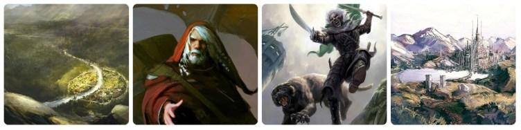 Silverymoon, Elminster, Drizzt e Guenwyvar, Cormyr - Forgotten Realms