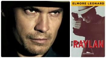 Timothy Olyphant é Raylan, personagem de ElmoreLeonard.