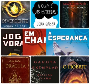 Livros adaptados para o cinema.